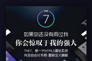 4G文件包【The7主题汉化版V9.0.0.1】带42套模板视频响应式的wordpress多功能多用途主题[无加密带视频教程]